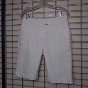 Tehama Lined White Shorts